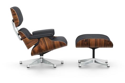Lounge Chair und Ottoman